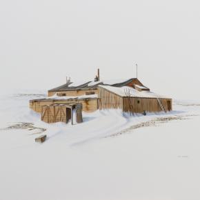 Scott's Terra Nova hut study