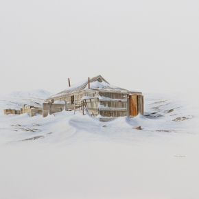 Shackleton's Nimrod hut study