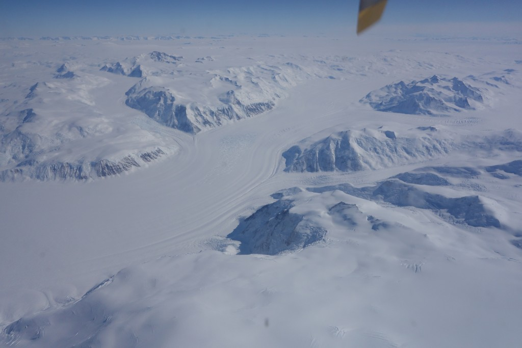 Trans Antarctic Mountain Range