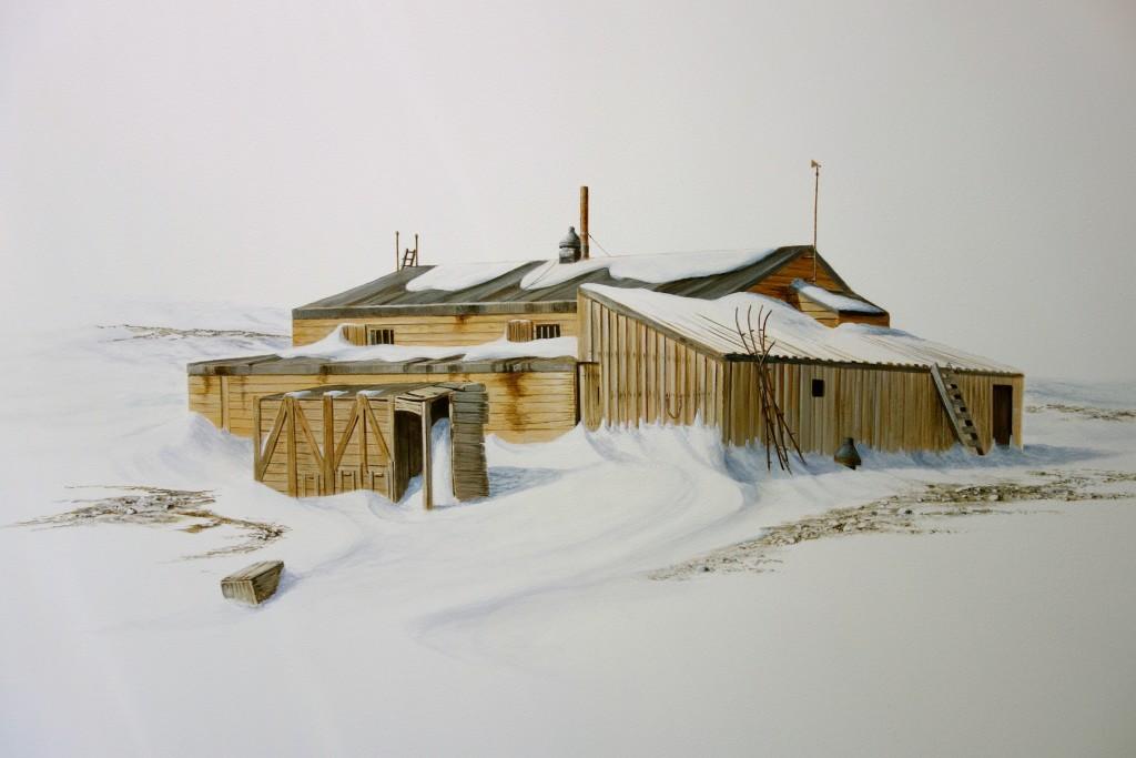 Scott's Terra Nova hut.
